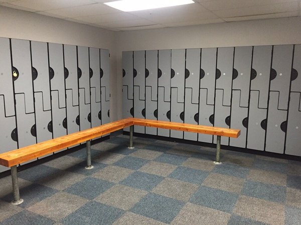 Bathroom Partitions Bay Area lockers | rebarber enterprises