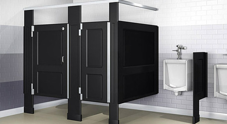 Toilet Partitions Rebarber Enterprises - Bathroom partitions san francisco